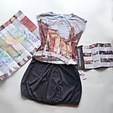 Tričká - Tričko s autorským potiskem Venezia - 13379107_