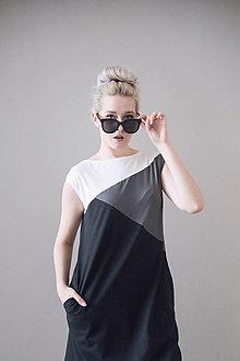 Šaty - Šaty Movie Star (černá) - 13379115_