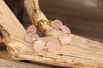 Náramky - Bohemian náramok z minerálu ruženín - 13378690_