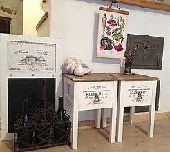 Nábytok - Nočný stolík pre Niki1204 - 13380213_