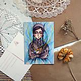 Papiernictvo - Brána do tajomných svetov/ pohľadnica - 13381225_