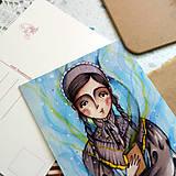 Papiernictvo - Brána do tajomných svetov/ pohľadnica - 13381226_