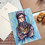 Papiernictvo - Brána do tajomných svetov/ pohľadnica - 13381227_