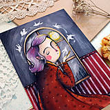 Grafika - O nádeji/ reprodukcia ilustrácie - 13381290_