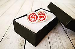 Šperky - Manžetové gombíky folk - 13381001_
