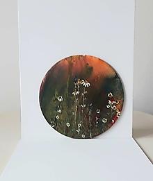 Obrazy - Kvety, akryl, priemer 30 cm - 13380748_