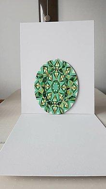 Obrazy - Geometria, ovál, 24 x 30 cm - 13381061_