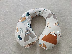 Textil - Vlnienka Cestovný vankúšik pre deti S, M, L, XL  Little ADVENTURES - 13381551_