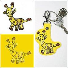 Kľúčenky - Kľúčenky podľa detských kresbičiek - 13380673_
