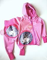 "Detské oblečenie - Softshellka+nohavice ""sleeping kitty"" - 13380527_"