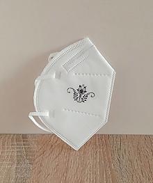 Rúška - respirátor ornament - 13381934_