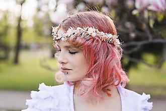 """Ozdoby do vlasov - Kvetinová tiara """"tajomstvá jarných dní"""" - 13380103_"""