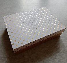 Krabičky - magic box srdiečka - 13380796_