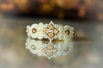 Náramky - Svadobný soutache náramok - svadba 2021 - 13379451_