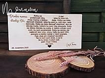 Darčeky pre svadobčanov - Poďakovanie rodičom BELKA - 13382186_