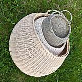 Košíky - závesný košík maxi na želanie - 13379688_
