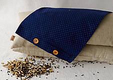 Úžitkový textil - Návliečka na šupkáč 40 cm (Modrá s mini bodkami) - 13379331_