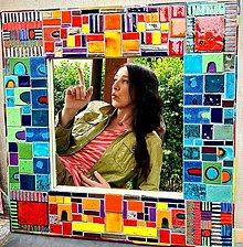 Zrkadlá - Zrkadlo recykled - 13385662_