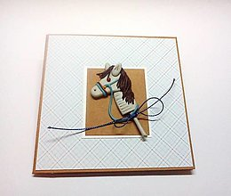 Papiernictvo - Pohľadnica ... koník - 13384657_