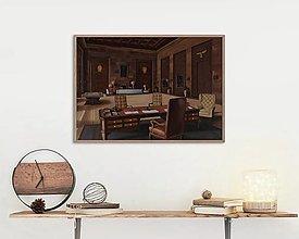 Obrazy - Obraz - Pracovná miestnosť - 13383337_