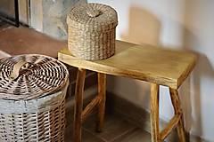 Nábytok -  Príručný stolček - 13383317_