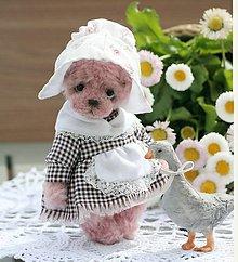 Hračky - Mini medvedica Evi - 13382841_