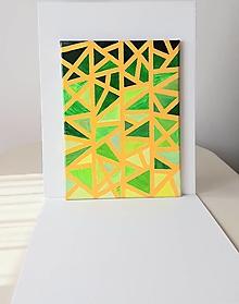 Obrazy - Geometria, abstrakt, akryl, 30 x 40 cm - 13382652_