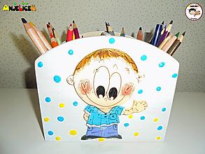 Detské doplnky - Stojan - na ceruzky - 13385610_