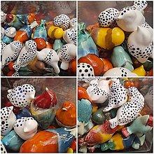 Dekorácie - Keramika, Colors Ptáčci - 13383408_