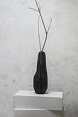 Dekorácie - Opaľovaná váza/ L - 13384607_