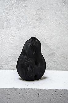 Dekorácie - Opaľovaná váza/ S - 13384446_