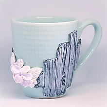 Nádoby - Mentolový - hrnček na čaj, kávu - 13383133_