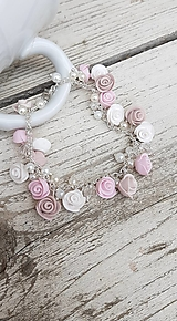 Náramky - Romantic vintage náramok - 13382368_