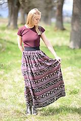 Sukne - sukňa Anežka - 13385364_