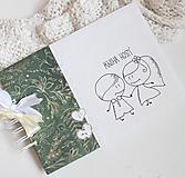Papiernictvo - Svadobná kniha hostí - na želanie - 13384785_