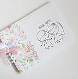 Papiernictvo - Svadobná kniha hostí - na želanie - 13384821_
