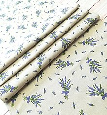 Úžitkový textil - Levanduľová štóla- stredový obrus - 13384307_