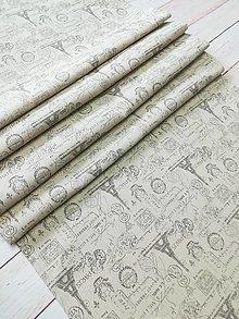 Úžitkový textil - Paríž štóla- stredový obrus - 13384332_