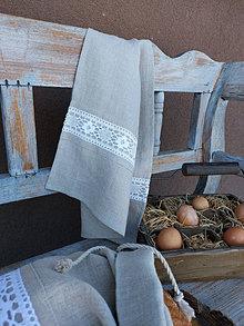 Úžitkový textil - Kuchynská utierka Grandma's Story I - 13385445_