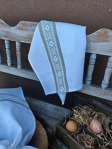 Úžitkový textil - Kuchynská utierka Grandma's Story II - 13385459_