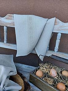 Úžitkový textil - Kuchynská utierka Grandma's Story III - 13385473_
