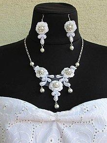 Sady šperkov - Krajková súprava VIII - 13384026_