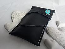 Iné tašky - Puzdro na perá s vtáčikom - 13387971_