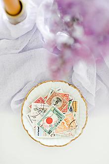 Papier - Vintage poštové známky - 13386937_
