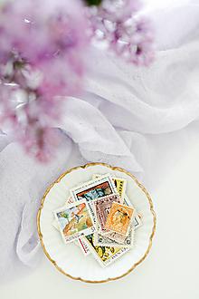 Papier - Vintage poštové známky - 13386947_