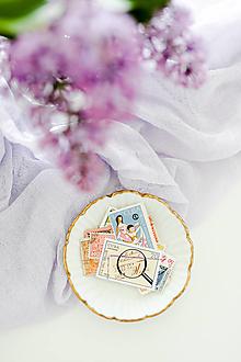 Papier - Vintage poštové známky - 13386960_