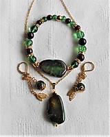 Sady šperkov - Achátové drúzy - 13387276_