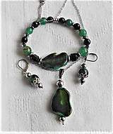 Sady šperkov - Achátové drúzy II - 13387355_