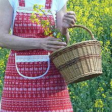 Iné oblečenie - Čičmianska zástera - 13386799_