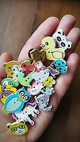 Detské doplnky - Brošnicky-zvieratká, darček pre spolužiakov - 13386245_